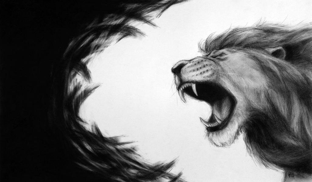 The Spirit of The Lion of The Tribe of Judah Lion of Judah Roaring